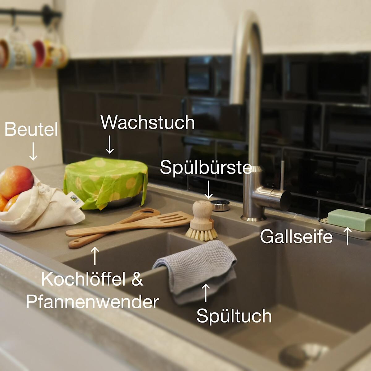 EicheNoah.de by Herz Hand Verstand - Set plastikfreie Küche